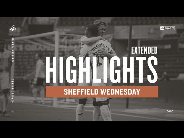 Swansea City v Sheffield Wednesday | Extended Highlights