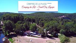 Camping de la Plage**** Saint Cirq Lapopie