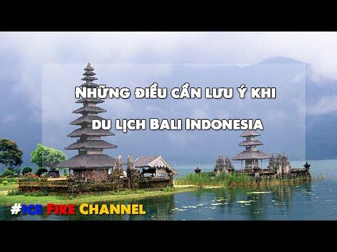 Những điều cần lưu ý khi đi du lịch Bali Indonesia mà bạn cần phải biết