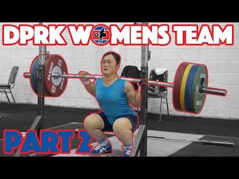 DPRK Womens Team Part 2/2 (Choe Hyo Sim 160x4 BS + Rim Jong Sim 165 FS) - 2018 Asian Games [4k 50]