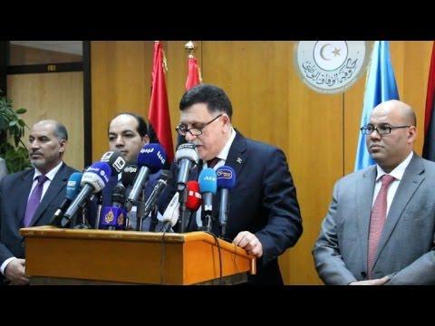Head of Libya's UN-backed unity govt arrives in Tripoli