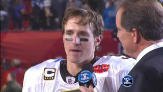 Super Bowl 44 Lombardi Trophy Presentation 2/7/10 (HD)