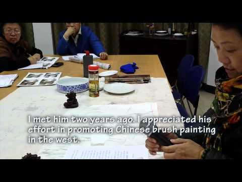 Lesson 43 Part 1-1 Wei Zixi Style Autumn Landscape with Prof Wei Li