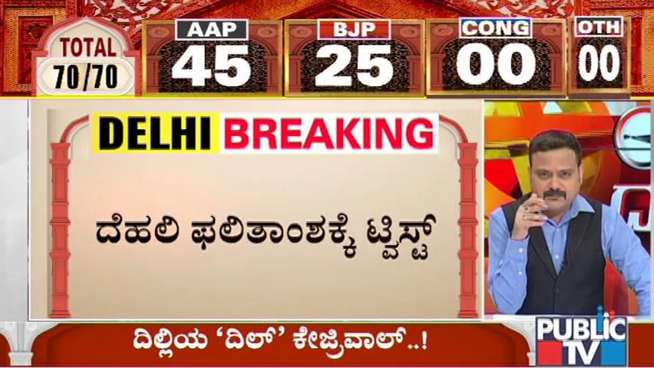 Delhi Election Results Live Updates: Arvind Kejriwal-led AAP ahead ...