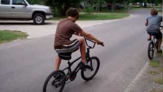 My Autistic Son First Time Riding Bike
