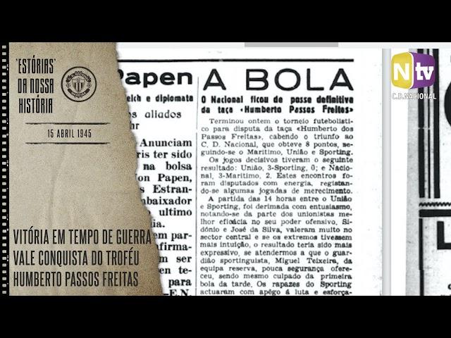 'ESTÓRIAS' DA NOSSA HISTÓRIA   15 ABRIL