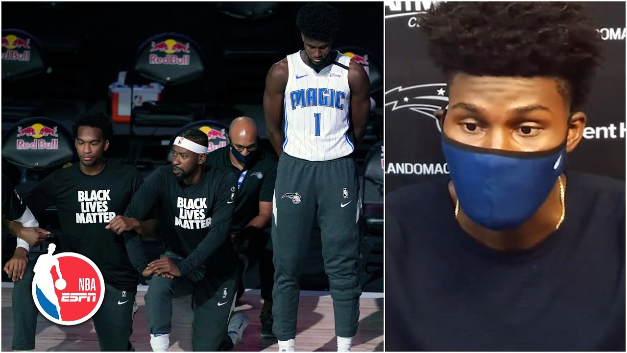 Magic's Jonathan Isaac explains standing for national anthem by ...