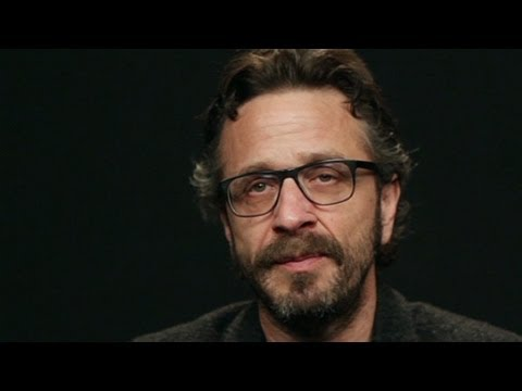 CNN Red Chair: Comedian Marc Maron On Drugs And Hearing Voices