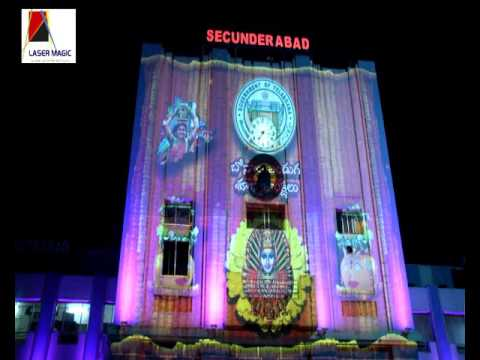 Laser Magic India 3d projection mapping