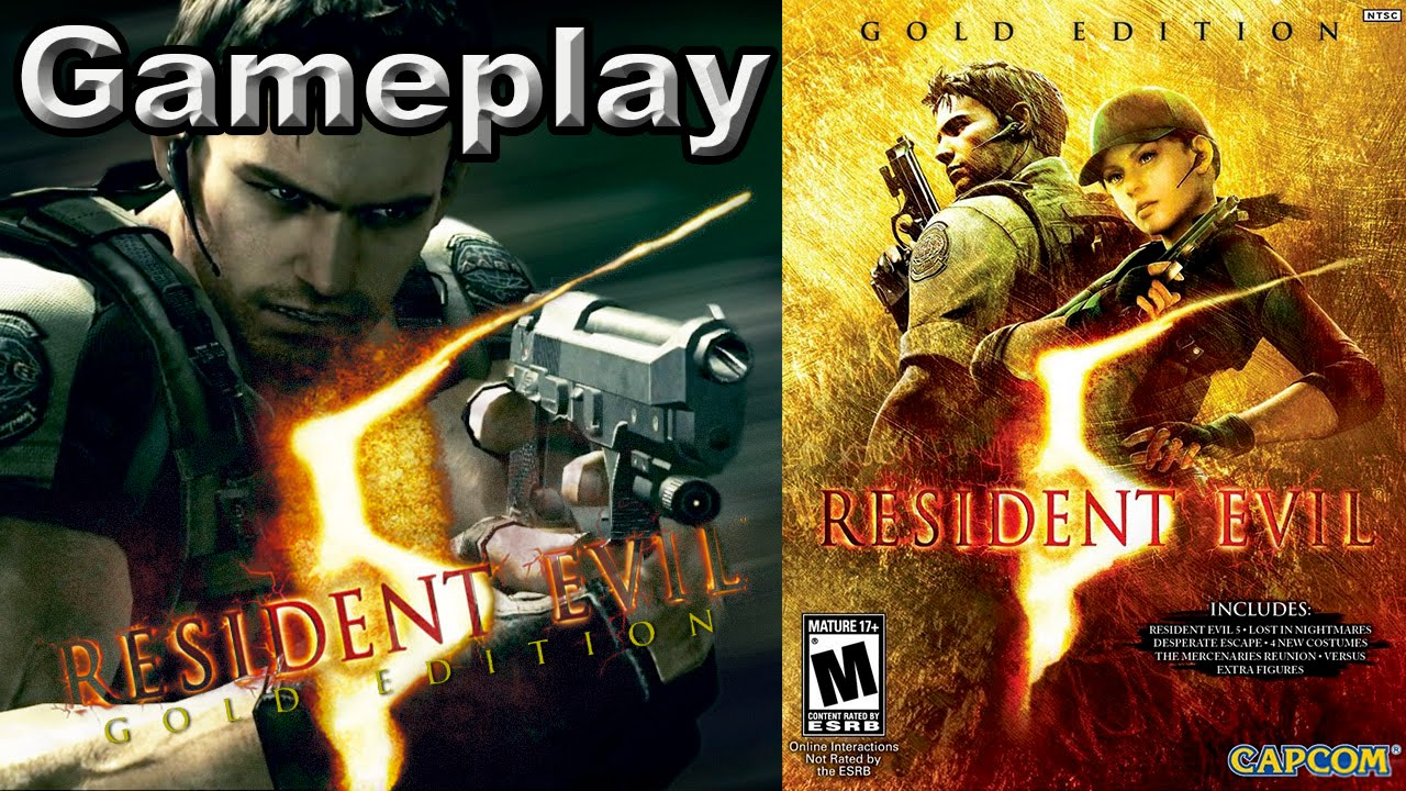Resident Evil 5 Gold Edition Gameplay Youtube