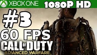Call of Duty Advanced Warfare Walkthrough Part 3 Gameplay 60 FPS Let