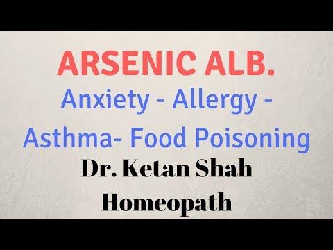 Arsenic Album Homeopathic Medicine in Hindi | Dr  Ketan Shah |