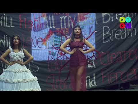 The Living Hidden | Themed Fashion Show by Kamala Nehru College Students | Mecca 2018