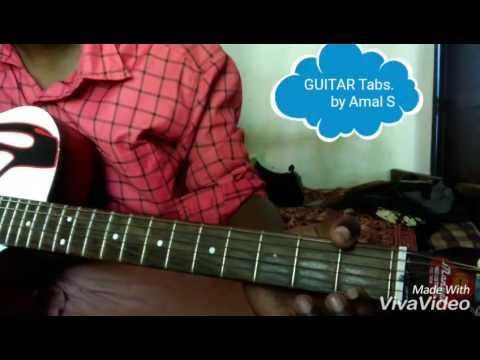 Guitar Tabs Jingle Bells easily learning kerala malayalam - YouTube