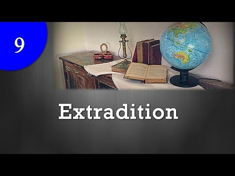 Extradition : International law