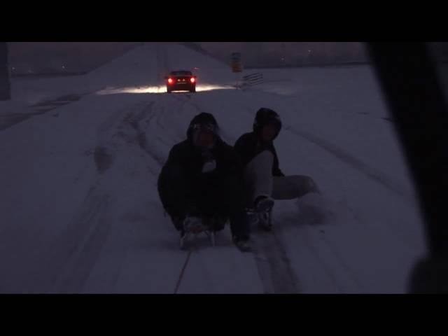 Sneeuw in de Alblasserwaard...... 2009