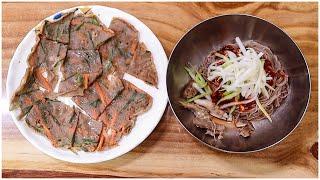 40년 노포 막국수 맛집 / 막국수 맛집 / 메밀전 맛…