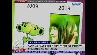 24 Oras: Cast ng 'Kara Mia,' natutuwa sa parody at memes ng netizens