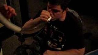 beer bong and cig