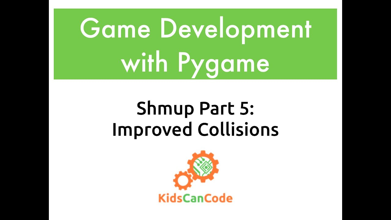 Pygame Shmup Part 5: Improved Collisions · KCC Blog