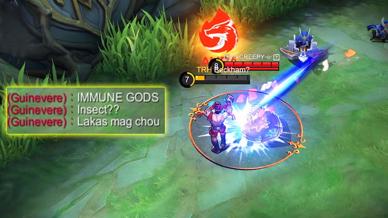 REASON WHY GUINEVERE USERS HATE MY CHOU!!!‎️‍🔥-MLBB