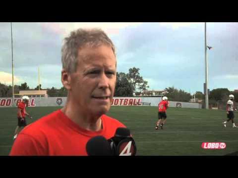 2013 Lobo Football | Coach Bob Davie: Post-Practice Press Conference