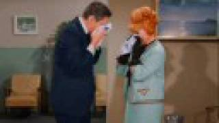Darrin and Endora at the hospital - Bewitched