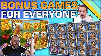Slot Games with easy to get Bonuses