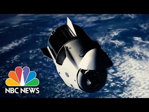 Astronauts Conduct Spacewalk to Open Door To The Future | NBC News