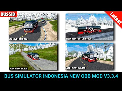 bussid-new-winter-graphics-&-bd-traffic-obb-mod-v3.3.4-|-bus-simulator-indonesia-mod-|-sourav-gaming