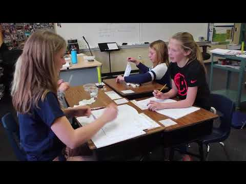 Mr. Koning's fifth-grade class at Grand Haven Christian School is the Classroom of the Week.