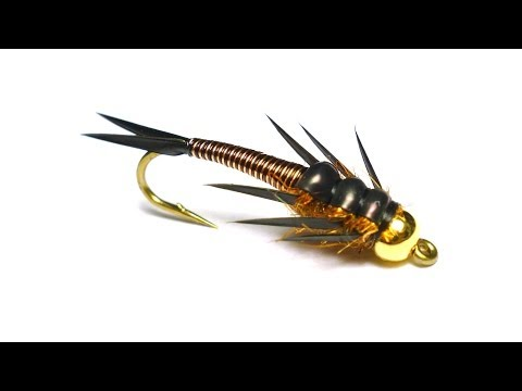 Wired Stonefly Nymph Fly Tying Video Directions