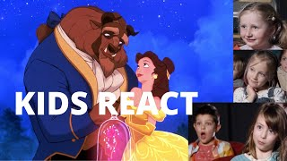 Kids React to Beauty and the Beast || What Makes For A Good Ending?