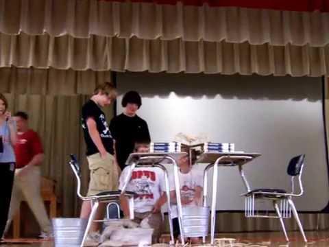 BOAZ MIDDLE SCHOOL SUSPENION BRIDGE TEST---CLASS OF 2013