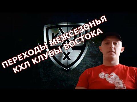 Хоккей ,Переходы межсезонья КХЛ клубы Востока