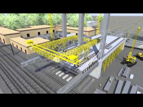 Burdwan Bridge Construction Animation Presentation. (www.skylarkstudio.co.in)