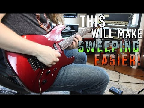 The Hardest Part Of Sweep Picking Just Got Easier!