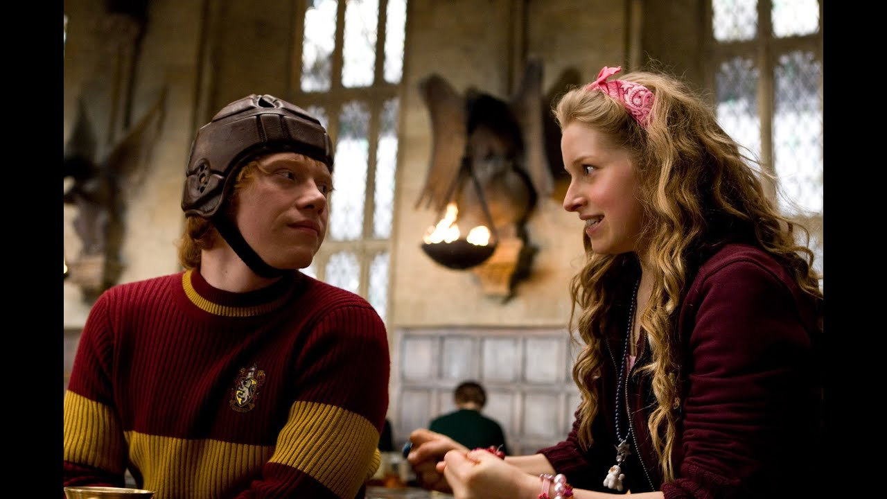 Run - Hermione/Ron/Lavender (Harry Potter Series) - YouTube