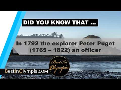 Peter Puget in Olympia   Best In Olympia   Olympia WA