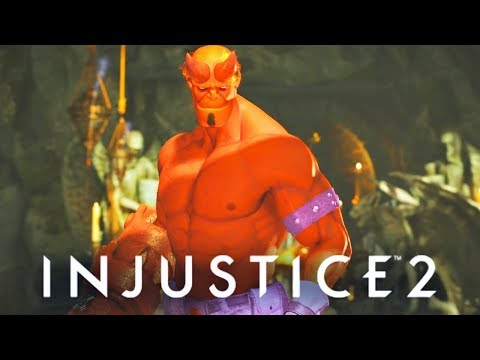 Thumbnail: INJUSTICE 2 - ALL Hellboy SAVAGE Dialogues!