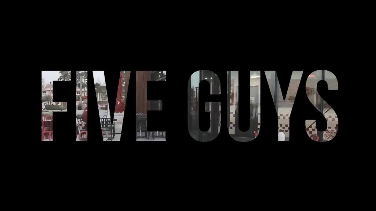 Five Guys Dubai The Best Burger On La Mer Dubai
