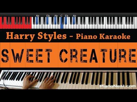 Harry Styles - Sweet Creature - HIGHER Key (Piano Karaoke / Sing Along)