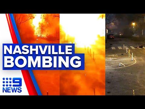 Bomber identified in Nashville Christmas suicide bombing | 9 News Australia thumbnail