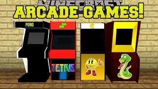 Game | Minecraft ARCADE GAMES!! PACMAN PONG MACHINES WITH PRIZES!! Mod Showcase | Minecraft ARCADE GAMES!! PACMAN PONG MACHINES WITH PRIZES!! Mod Showcase