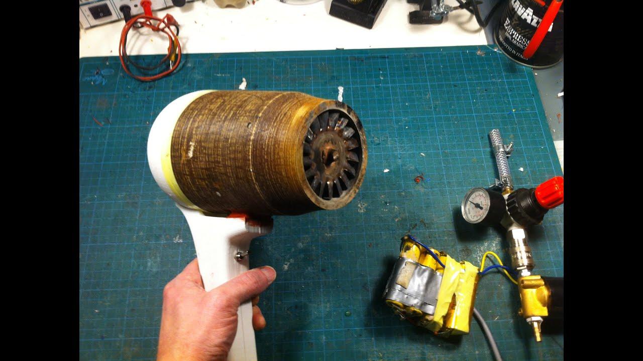 "3D printed jet engine ""The Hair Fryer"""