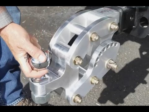 The Amazing Rhino Trailer Hitch!  Take Control Of Your Tounge Height