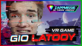 Help Gio Latooy ontsnappen // Zappmissie 2018 // LIVE VR-GAME