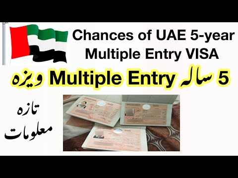 UAE🇦🇪 Five-Year multiple entry VISA still in the pipeline. A