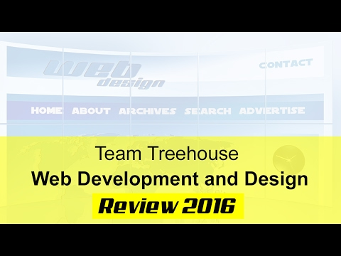 Team Treehouse Web Development and Design Review 2017