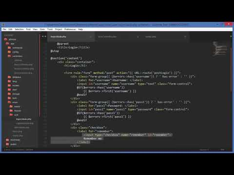 PHP Beginner Tutorial  Laravel Forum Software Part 5